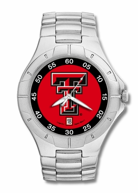 Texas Tech Pro II Men's Stainless Steel Watch