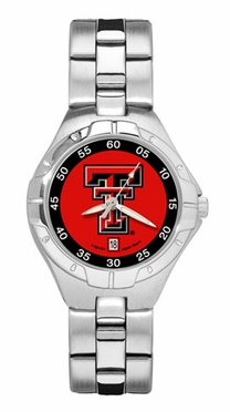 Texas Tech Pro II Women's Stainless Steel Watch