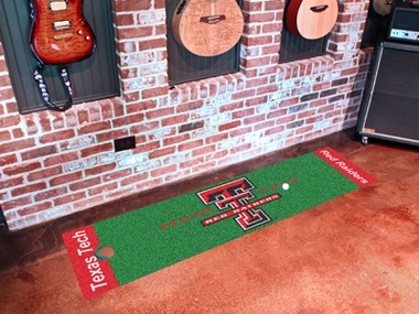 Texas Tech Putting Green Mat