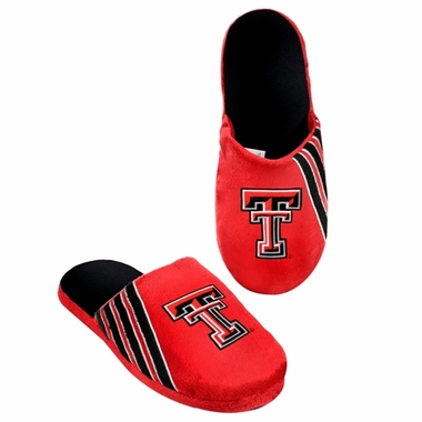 Texas Tech Red Raiders 2012 Team Stripe Logo Slippers
