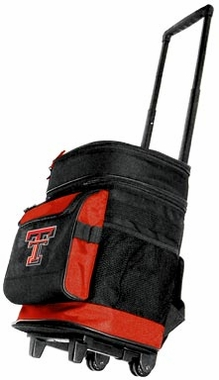 Texas Tech Rolling Cooler