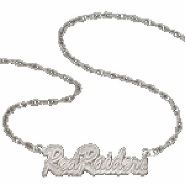 Texas Tech Script Necklace