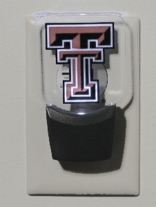 Texas Tech Set of 2 Nightlights