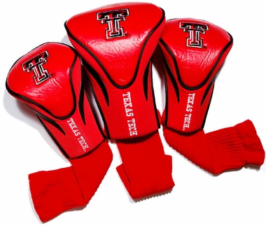 Texas Tech Set of Three Contour Headcovers