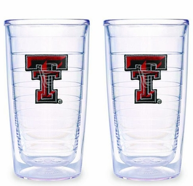 Texas Tech Set of TWO 16 oz. Tervis Tumblers
