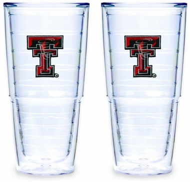 Texas Tech Set of TWO 24 oz. Tervis Tumblers