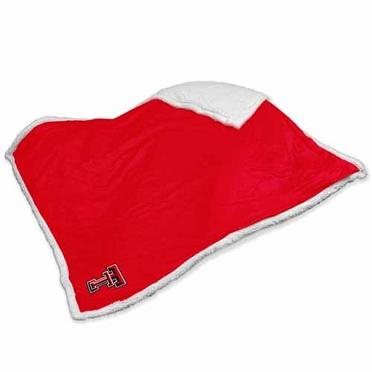 Texas Tech Sherpa Blanket