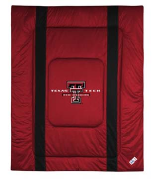 Texas Tech SIDELINES Jersey Material Comforter