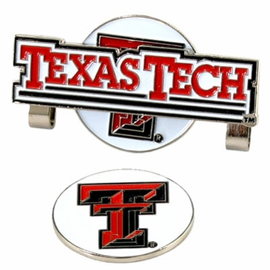 Texas Tech Slider Clip With Ball Marker