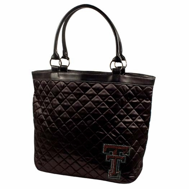 Texas Tech Sport Noir Quilted Tote