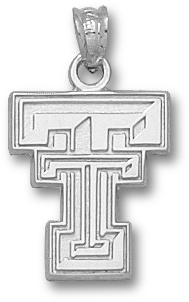 Texas Tech Sterling Silver Pendant