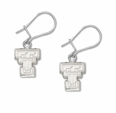 Texas Tech Sterling Silver Post or Dangle Earrings