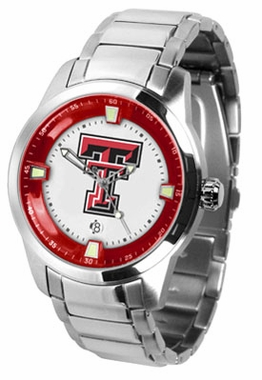 Texas Tech Titan Men's Steel Watch