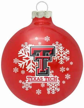 Texas Tech Traditional Ornament