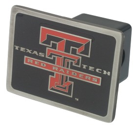 Texas Tech Trailer Hitch Cover