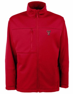 Texas Tech Mens Traverse Jacket (Team Color: Red)