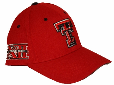 Texas Tech Triple Conference Adjustable Hats