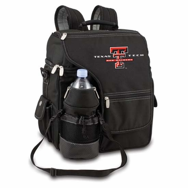 Texas Tech Turismo Embroidered Backpack (Black)