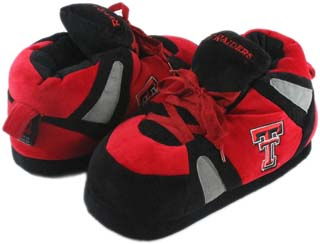 Texas Tech UNISEX High-Top Slippers - Small