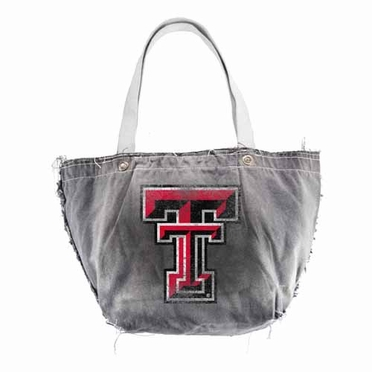 Texas Tech Vintage Tote (Black)