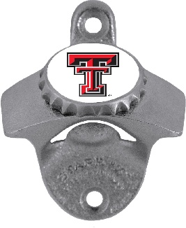 Texas Tech Wall Mount Bottle Opener