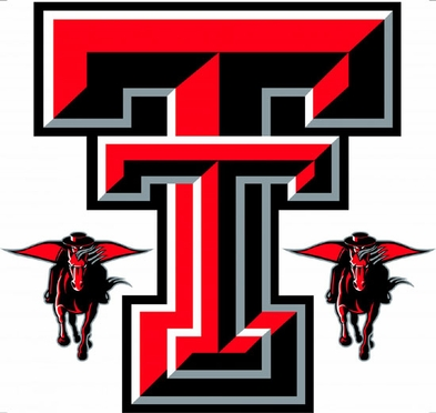 Texas Tech Wallmarx Large Wall Decal