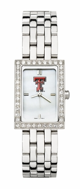 Texas Tech Women's Steel Band Allure Watch