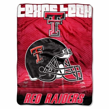 Texas Tech XL Micro Raschel Blanket