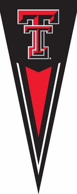Texas Tech Yard Pennant
