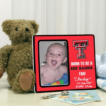 Texas Tech Youth Picture Frame