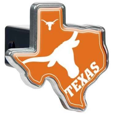 Texas Texas Shaped Trailer Hitch Cover
