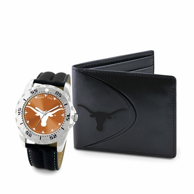 Texas Watch and Wallet Gift Set