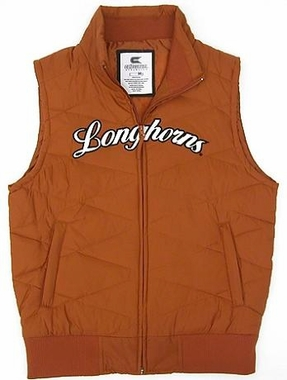 Texas Womens Bubble Vest