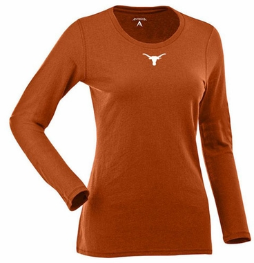 Texas Womens Relax Long Sleeve Tee (Team Color: Orange)