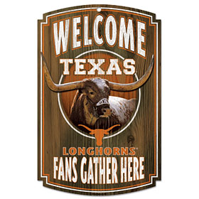 Texas Wood Sign