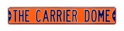 The Carrier Dome Street Sign