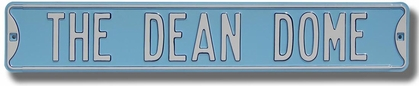 The Dean Dome Street Sign