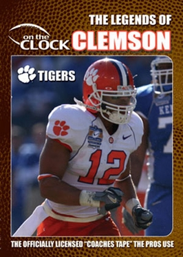 The Legends of the Clemson Tigers DVD