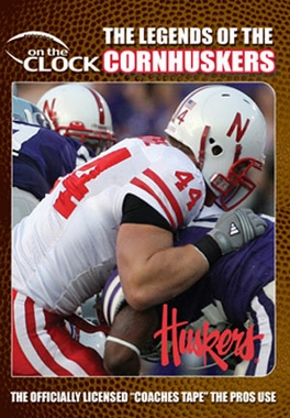 The Legends of the Cornhuskers of Nebraska DVD