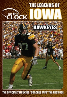 The Legends of the Iowa Hawkeyes DVD