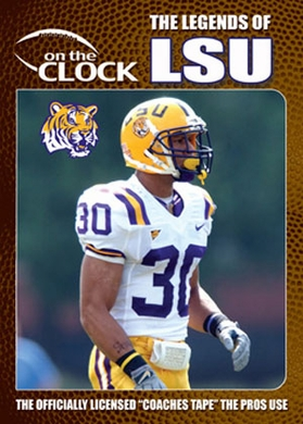 The Legends of the LSU Tigers DVD