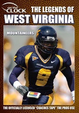 The Legends of the Mountaineers of West Virginia DVD