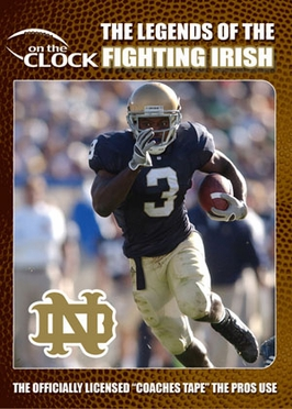 The Legends of the Notre Dame Fighting Irish DVD