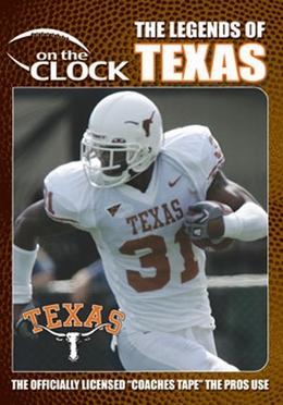 The Legends of the Texas Longhorns DVD