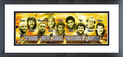 The Steel Curtain Framed / Double Matted Photoramic