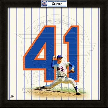 "Tom Seaver, Mets UNIFRAME 20"" x 20"""