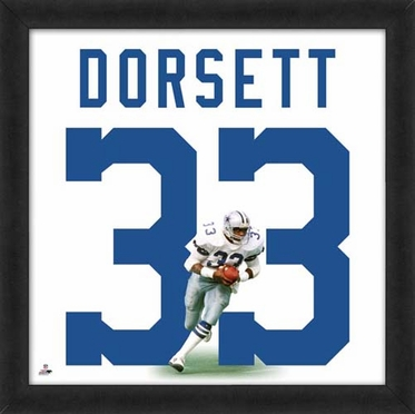 "Tony Dorsett, Cowboys UNIFRAME 20"" x 20"""