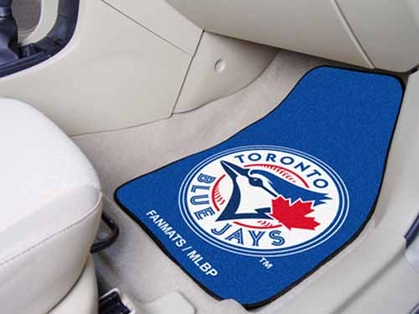Toronto Blue Jays 2 Piece Car Mats