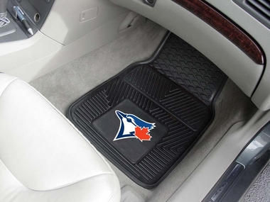 Toronto Blue Jays 2 Piece Heavy Duty Vinyl Car Mats