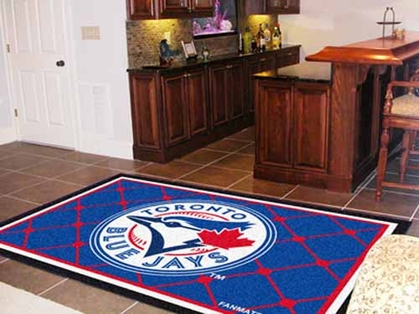 Toronto Blue Jays 5 Foot x 8 Foot Rug